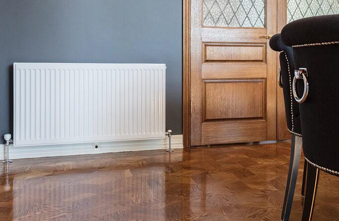 Heat Plate Under Timber Floor Heating
